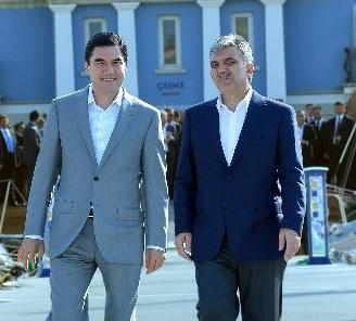 Türkmenistan Gül'ü Ağırlayacak!