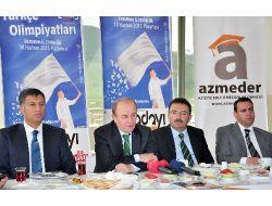 Vali Öztürk: Türkçe Olimpiyatları'yla Gurur Duyuyoruz