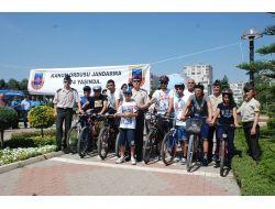 Jandarmadan Bisiklet Yarışı