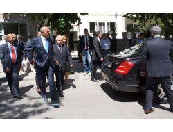 Tbmm Başkanı Demirel'e Taziye Ziyaretinde Bulundu