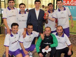 Sağlıkta Birlik Halısaha Turnuvasının Birincisi Elvanspor Oldu