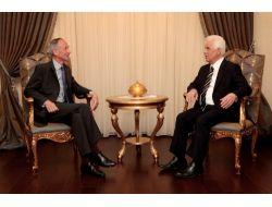 Eroğlu, İngiliz Yüksek Komiseri Kiddi Kabul Etti
