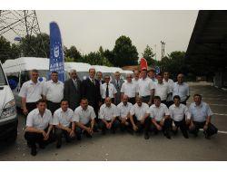 Bursa Büyükşehir Belediyesinin Araç Filosu Güçlendi
