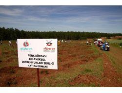 Türk Dünyası'nın Çocukları 'kardeşlik Ormanı' Kurdu