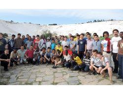 Türkçenin Çocukları Pamukkale'ye Hayran Kaldı