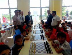 Yıldırımhan'dan Festival Havasında Satranç Turnuvası