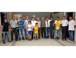 Kepez Belediyesinden Engelli Futbolculara Ulaşım Sponsorluğu Sözü