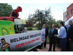 Melikgazi Belediyesi Hizmet Araçlarını Yeniliyor