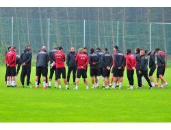 A Milli Takım, Slovenya Maçı Hazırlıklarına Başladı