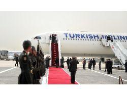 Cumhurbaşkanı Gül, Türkmenistan 'a Gitti!