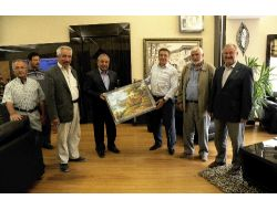 Cami Dernekleri Başkan Çetin'e Teşekkür Etti