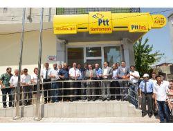 Vali Coş, Sarıhamzalı'da Ptt Şubesinin Açılışını Yaptı