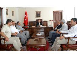 Osb Yeni Yönetim Kurulu Vali Demirtaş'ı Ziyaret Etti