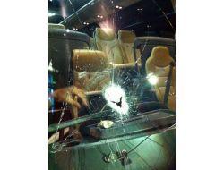 Galatasaray Medical Park Kafilesine Taşlı Saldırı