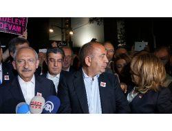 Chp Lideri Kılıçdaroğlu Gezi Parkındaki Eyleme Destek Verdi