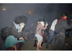 Gezi Parkındaki Nöbete Biber Gazı