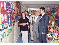 Acıpayam Mehmet Manisalı Anaokulunda Resim Sergisi Açıldı
