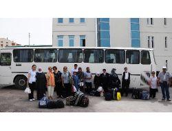 Kaplıca Tatili Kazanan 'dedeler Ve Neneler' Yola Çıktı