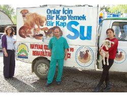 Hayvanlar İçin Acil Yardım Aracı Tahsis Edildi