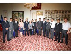 Özbek Heyet, Turizm İşbirliği Yapmak İçin Bursaya Geldi