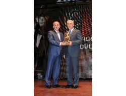 Lokman Çağırıcı'ya 'en Başarılı İlçe Belediye Başkanı' Ödülü
