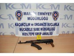 Mardinde Uzun Namlulu Silah Ve Tabanca