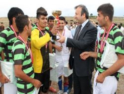 Gençlik Futbol Turnuvasında İdil Çpl Birinci Oldu