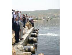 Gemlikte Taşkınlara Karşı Yaptırılan Yağmur Suyu Terfi İstasyonu Açıldı
