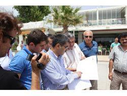 Ak Partililer Akçay Kordonunda Basın Toplantısı Düzenledi