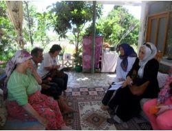 Ak Partili Hanımlar Engelli Ziyaretleriyle Ailelere Moral Veriyor