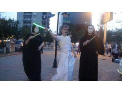 Batmanlılar Geleneksel Japon Dansı Butoh İle Tanıştı