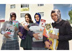 Liseli Öğrenciler, Köy Okulları İçin 2 Bin 350 Kitap Topladı