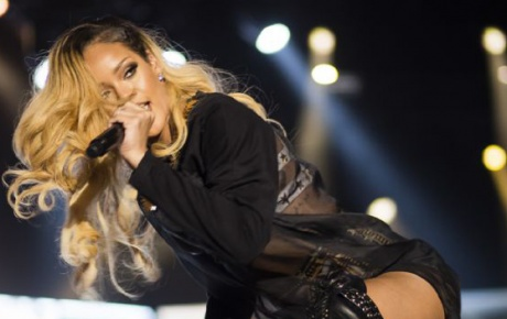 Rihanna İstanbulu salladı!..