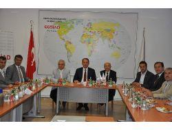 Egsiad Ve Eto, Eskişehir İçin Fikir Birliği Yaptı