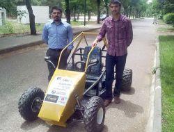 Gaziantep Üniversitesi Öğrencileri İnsansız Kara Aracı Üretti