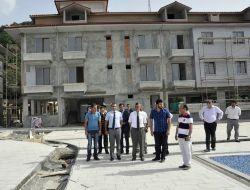 Kastamonu Valisi, Abanadaki Otel İnşaatını İnceledi