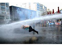 Taksim Gezi Parkında gerginlik