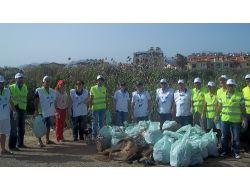 Akdenizi Temiz Tutalım Kampanyası Çerçevesinde Fethiyede Temizlik Yapıldı