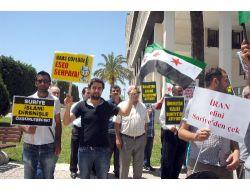Lübnan Hizbullahı'na İzmirden Protesto