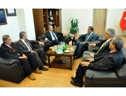 Muş Valisi Vedat Büyükersoy, Rektör İnançı Ziyaret Etti