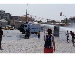 Chpli Tekinden Polise Gaz Tepkisi
