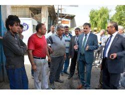 Malatyada Sanayi Sitesinin Altyapısı Yenilendi