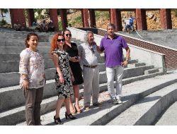 Ünlü Organizatör San, Belediye Tiyatrosunu İnceledi
