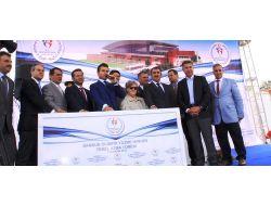 Bakan Kılıç, Samsun Olimpik Yüzme Havuzu Projesi'nin Temelini Attı