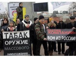 Rusya'da Kamu Alanında Sigara Yasağı Uygulamada, Hedef 200 Bin Yaşam