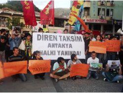 Hatayda Gezi Parkı Protestosu