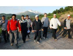 Melikgazi Belediyesi Personeli Spor İçin Kızıltepe'de Buluştu