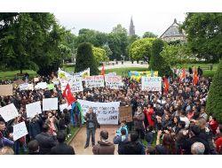 Gezi Parkı İnşaatı Fransada Protesto Edildi