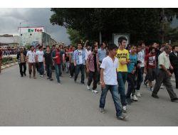 Erzincanda Gezi Parkı Protestosu