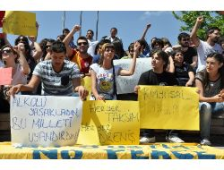 Kırıkkalede Taksim Gezi Parkı Protestosu